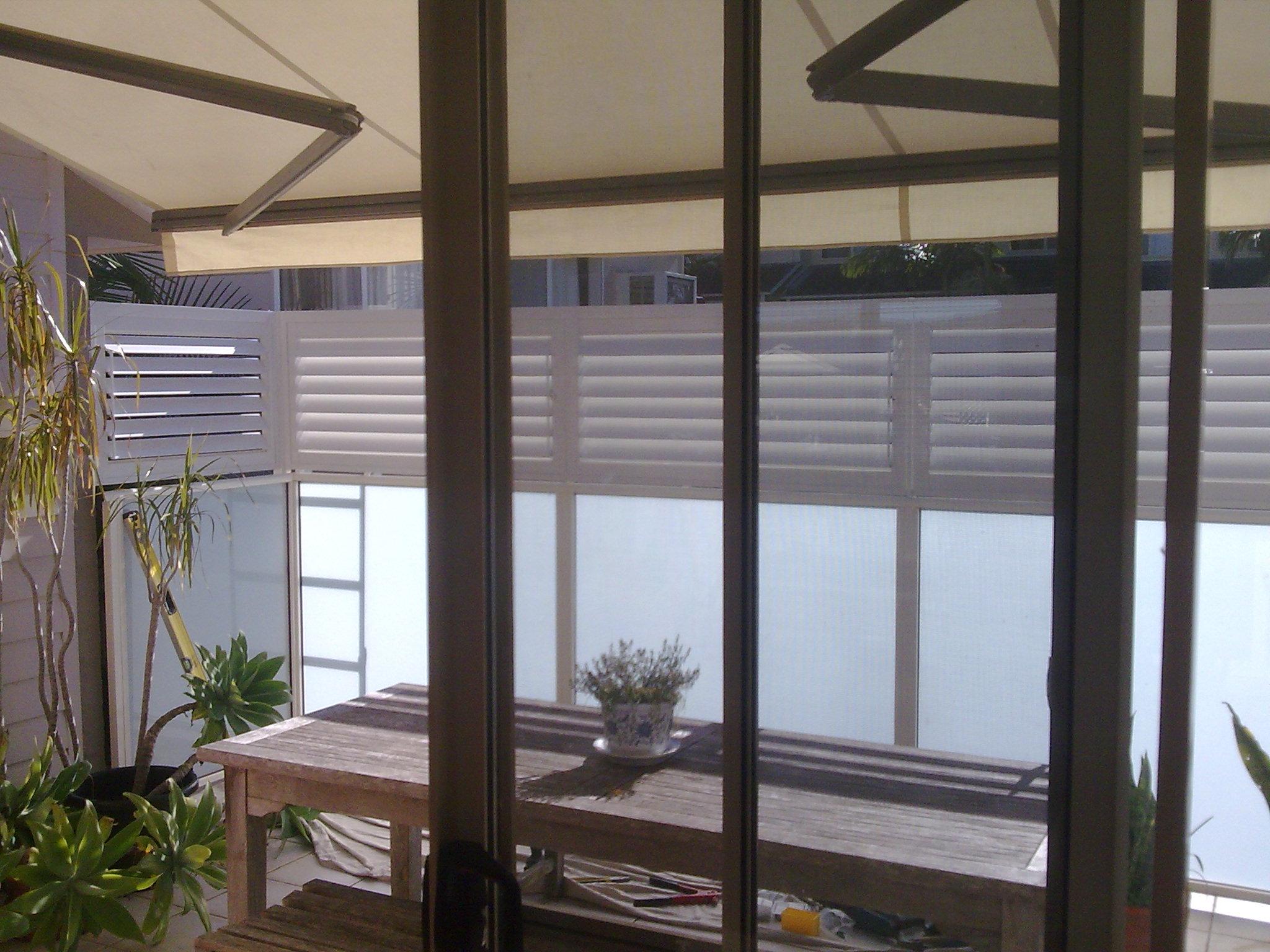 Aluminium Shutters Balcony