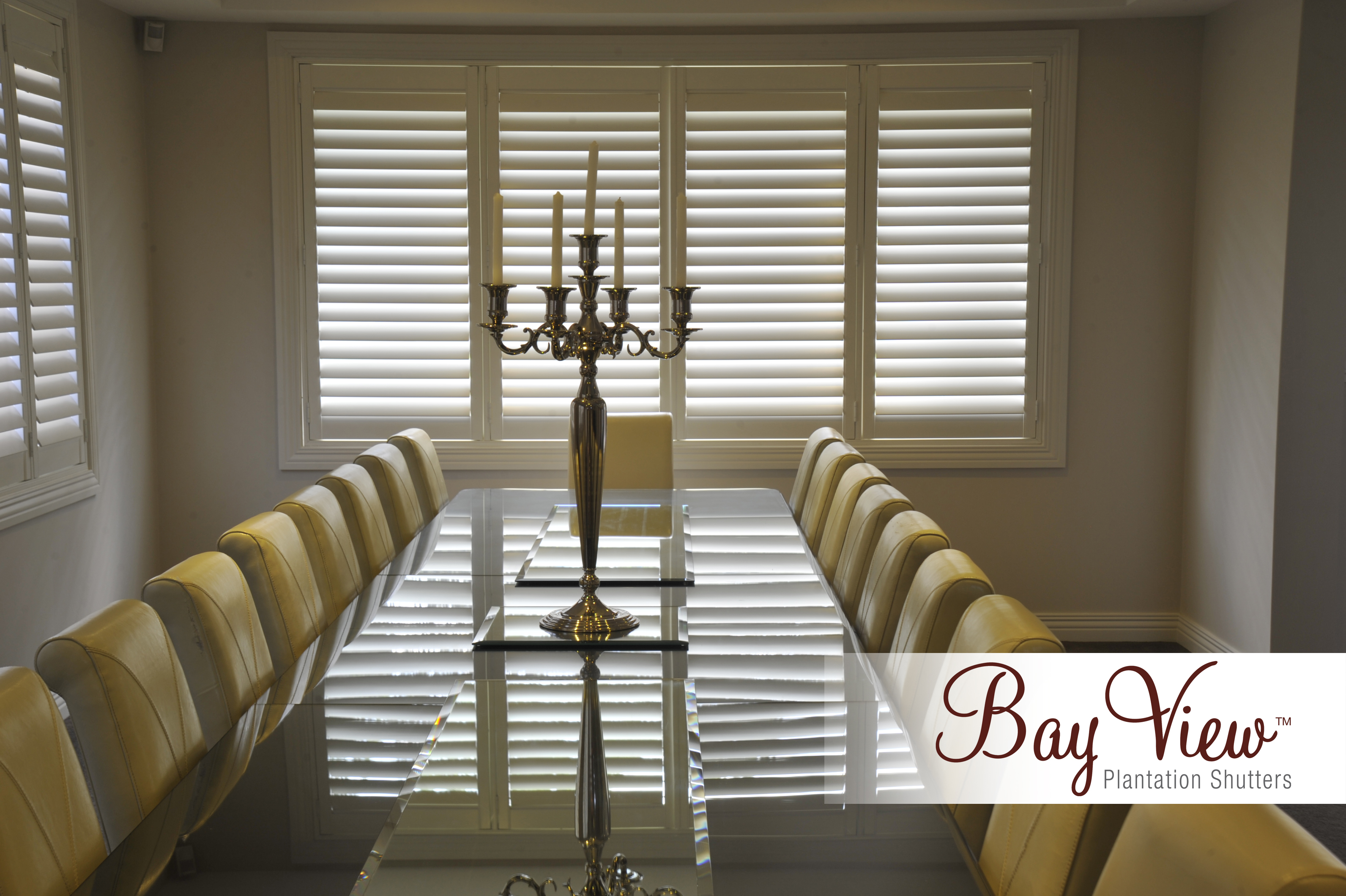 Basswood Shutters Dining