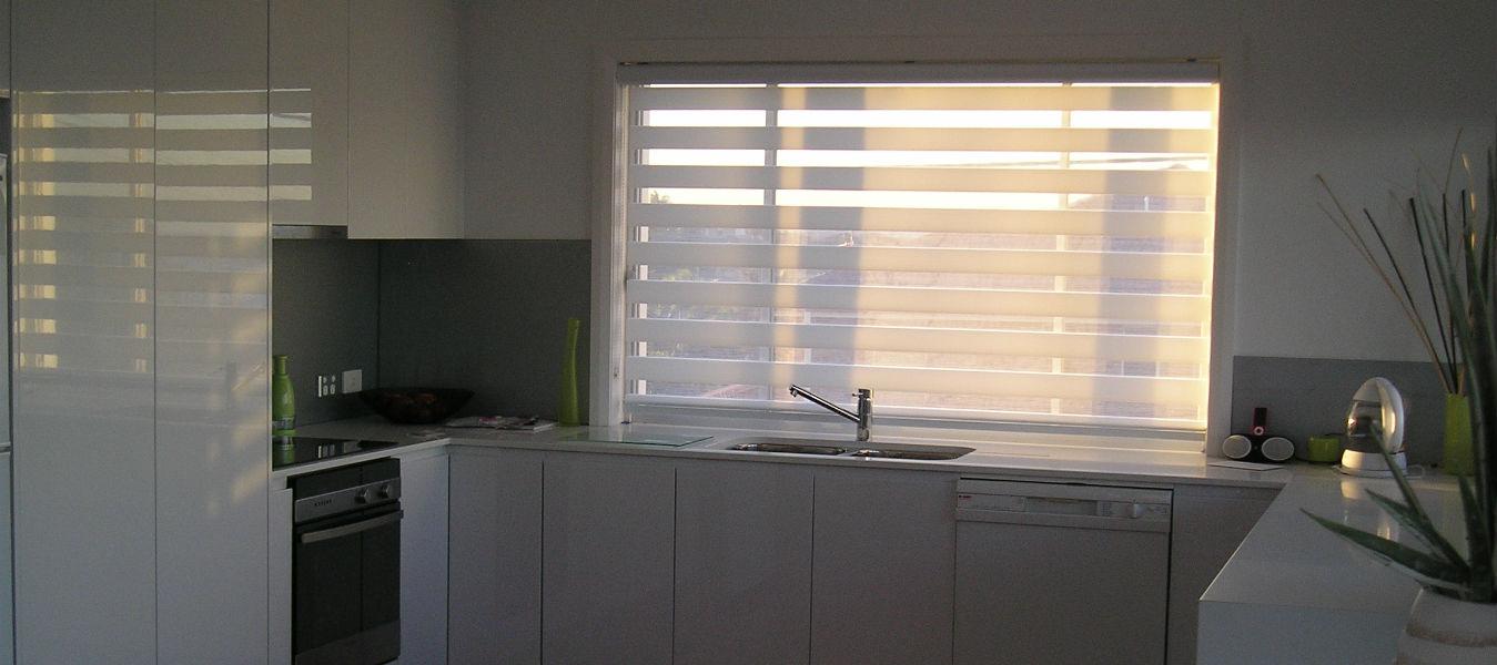 Sheer Elegance Kitchen blinds