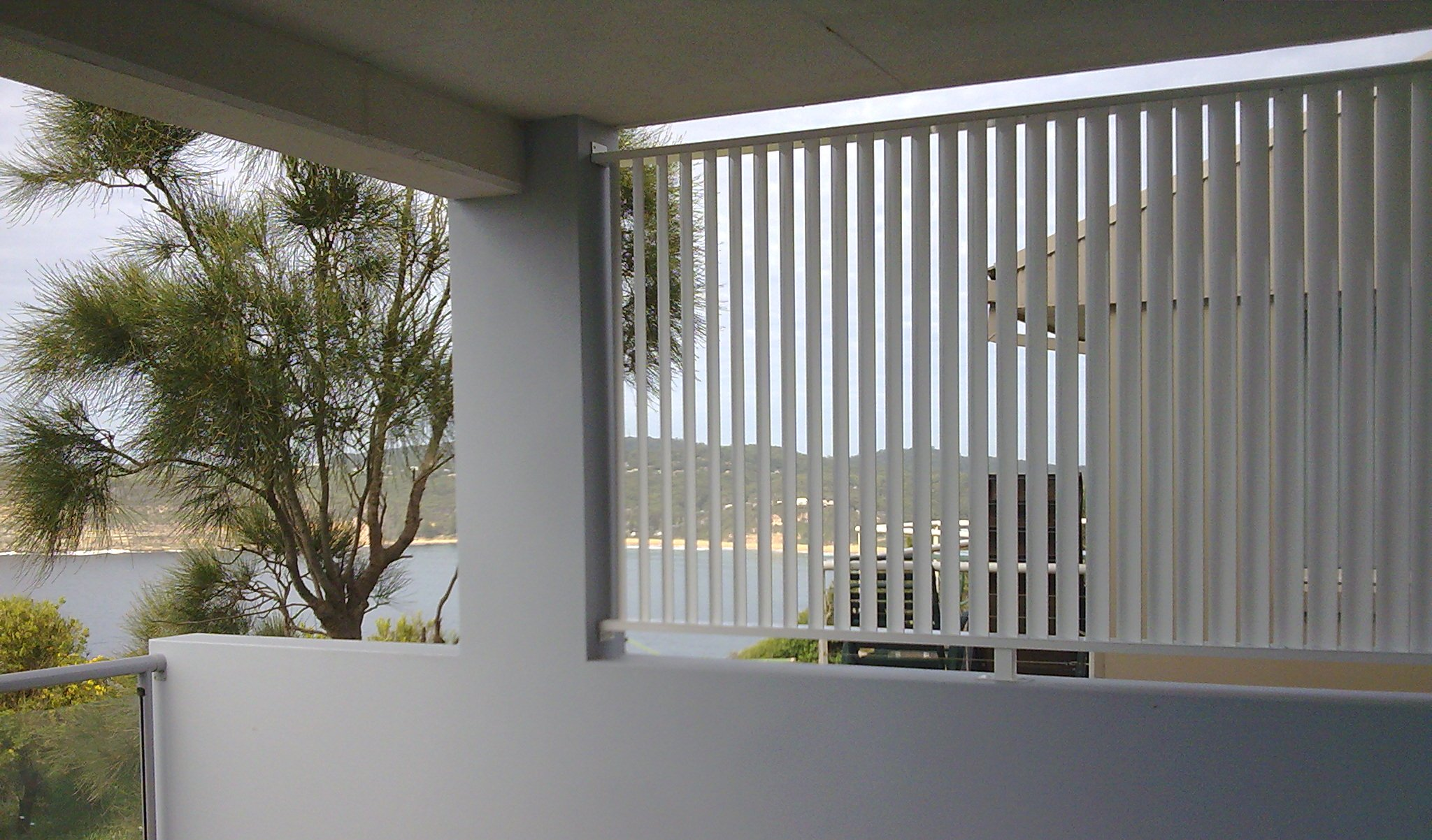 Vertical ScreenAluminium Plantation Shutters and Screens