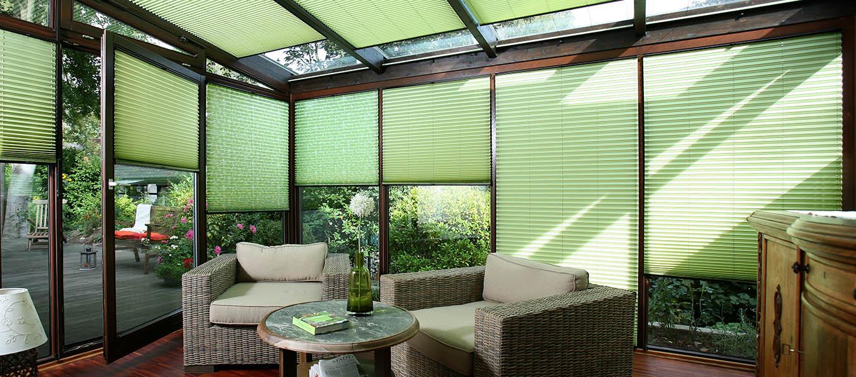 regular pleated blinds
