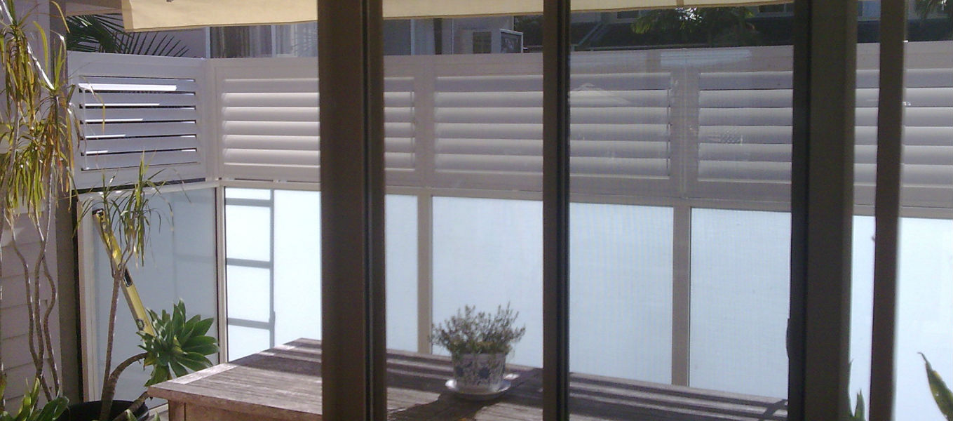 Aluminium Shutters for Balcony
